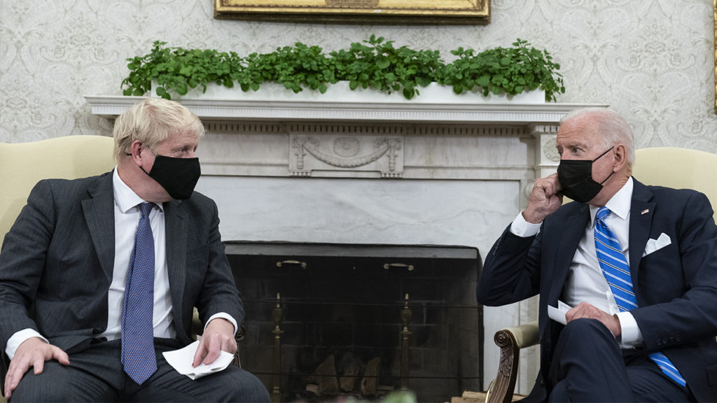 Biden Refuses To Call On US Reporters While UK's Boris Johnson Holds Court
